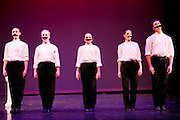 Dance Wisconsin dancers rehearse Nastrovia at Madison College in Madison, Wisconsin on October 12, 2012.