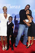l to r: Mary J. Blige, Kwesi Boakye, Tyler Perry and Taraji P. Henson  at Tyler Perry's special New York Premiere of ' I Can Do Bad all By Myself ' held at the School of Visual Arts Theater on September 8, 2009 in New York City.