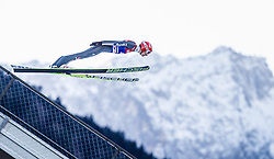 31.12.2013, Olympiaschanze, Garmisch Partenkirchen, GER, FIS Ski Sprung Weltcup, 62. Vierschanzentournee, Qualifikation, im Bild Karl Geiger (GER) // Karl Geiger (GER) during qualification Jump of 62nd Four Hills Tournament of FIS Ski Jumping World Cup at the Olympiaschanze, Garmisch Partenkirchen, Germany on 2013/12/31. EXPA Pictures © 2014, PhotoCredit: EXPA/ JFK
