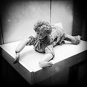 Inside the Puppenmuseum (Doll Museum) in Wilhelmsbad