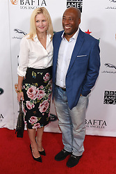 September 15, 2018 - Beverly Hills, California, USA - JENNIFER LUCAS and BYRON ALLEN attends the 2018 BAFTA Los Angeles + BBC America TV Tea Party at the Beverly Hilton in Beverly Hills. (Credit Image: © Billy Bennight/ZUMA Wire)