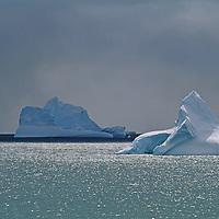 ANTARCTICA.  Icebergs near Elephant Island, South Atlantic Ocean.