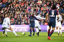 February 17, 2018 - Paris, France - 19 LASSANA DIARRA (psg) - 19 STEPHANE BAHOKEN  (Credit Image: © Panoramic via ZUMA Press)