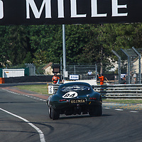 J#84, Jaguar E-Type (1963), driven by Read Gomm, Jaguar Classic Challenge on 07/07/2018 at the Le Mans Classic, 2018