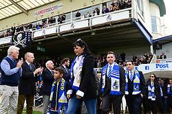 Tributes are paid to Geoff Dunford - Mandatory by-line: Dougie Allward/JMP - 28/10/2017 - FOOTBALL - Memorial Stadium - Bristol, England - Bristol Rovers v Milton Keynes Dons - Sky Bet League One