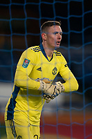 Football - 2020 / 2021 League Cup - Quarter-Final - Everton vs Manchester United - Goodison Park<br /> <br /> Manchester United's Dean Henderson in action during todays match  <br /> <br /> <br /> COLORSPORT/TERRY DONNELLY