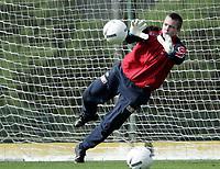 Fotball / Football<br /> International U 17 Team Tournament<br /> Norge v Polen 3-1<br /> Norway v Poland 3-1at La Manga - Spain<br /> Poland played in Norways white changing shirts<br /> 05.02.2007<br /> Foto: Morten Olsen, Digitalsport<br /> <br /> Lars Stubhaug - Everton / Norway