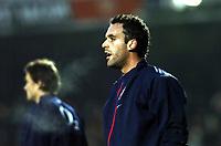 Fotball<br /> Premier League 2004/05<br /> Arsenal v Chelsea<br /> 12. desember 2004<br /> Foto: Digitalsport<br /> NORWAY ONLY<br /> Manuel Almunia og Jens Lehmann, Arsenal