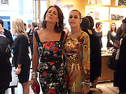 ANDREA DELLAL; ALICE DELLAL, Louis Vuitton openingof New Bond Street Maison. London. 25 May 2010. -DO NOT ARCHIVE-© Copyright Photograph by Dafydd Jones. 248 Clapham Rd. London SW9 0PZ. Tel 0207 820 0771. www.dafjones.com.