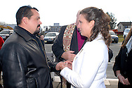 12/7/09 - 11:27:12 AM - FORTESCUE, NJ: Diana & Ken - December 7, 2009 - Fortescue, New Jersey. (Photo by William Thomas Cain/cainimages.com)