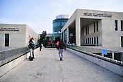 Israel, Haifa University, Jacob Recanati Economics and Statistics Building (right)