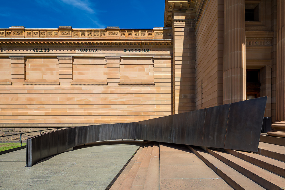 art gallery of NSW entry ramp