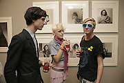 TOMAS HEIN, ANNA TREVELIAN AND  DOMINIC JONES AND, Photos by Robert Mapplethorpe: Still Moving & Lady, Alison Jacques Gallery, 4 Clifford Street, London, W1, Dinner afterwards at the  The Dorchester with performance by Patti Smith, 7 September 2006.  ONE TIME USE ONLY - DO NOT ARCHIVE  © Copyright Photograph by Dafydd Jones 66 Stockwell Park Rd. London SW9 0DA Tel 020 7733 0108 www.dafjones.com