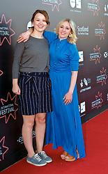 Edinburgh International Film Festival, Monday, 25th June 2018<br /> <br /> JELLYFISH (European Premiere)<br /> <br /> Pictured: Liv Hill and Sinead Matthews<br /> <br /> (c) Alex Todd   Edinburgh Elite media