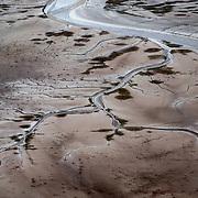 Colorado River Delta tidal channel, March 3, 2020, Sonora/Baja California, Mexico.