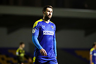 AFC Wimbledon striker Ollie Palmer (9) walking off pitch during the EFL Sky Bet League 1 match between AFC Wimbledon and Bristol Rovers at Plough Lane, London, United Kingdom on 5 December 2020.
