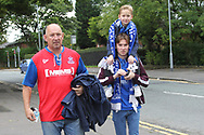 Rochdale supporters pre-match during the EFL Sky Bet League 1 match between Rochdale and Gillingham at Spotland, Rochdale, England on 23 September 2017. Photo by Daniel Youngs.