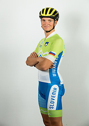 Jaka Primozic during photo session of Slovenian Cycling Team for 2018 UCI Road World Championships Innsbruck, on September 17, in Spodnji Brnik, Slovenia. Photo by Vid Ponikvar / Sportida