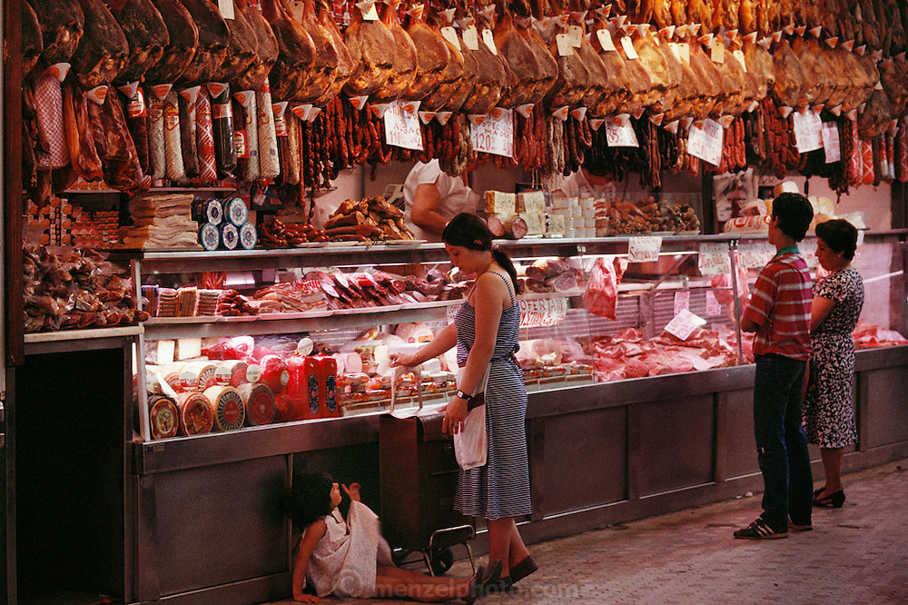 Meat Market, Valencia, Spain.