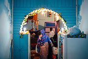 Mother of the groom in her house during the wedding night