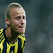 Fenerbahce's Mirosloav Stoch during their Turkish Superleague SuperFinal Derby match Besiktas between Fenerbahce at the Inonu Stadium at Dolmabahce in Istanbul Turkey on Thursday, 03 May 2012. Photo by TURKPIX