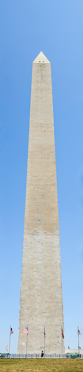 Washington Monument High Resolution Panorama Southern Face. Very high resolution panoramic image (100.4 meapixel) of the southern face of the Washington Monument on the National Mall.