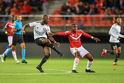 September 21, 2018 - Valenciennes, France - Samba Diakite ( Red Star FC ) - ALOE Baptiste  (Credit Image: © Panoramic via ZUMA Press)