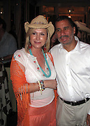 Kathy Hilton and NY Governor David Paterson..The Second Annual Best Buddies Hamptons..Anne and Jay McInerney Private Home..Water Mill, NY, USA..Friday, August 21, 2009. .Photo By Celebrityvibe.com.To license this image please call (212) 410 5354; or Email: Celebrityvibe@gmail.com ;.website: www.Celebrityvibe.com