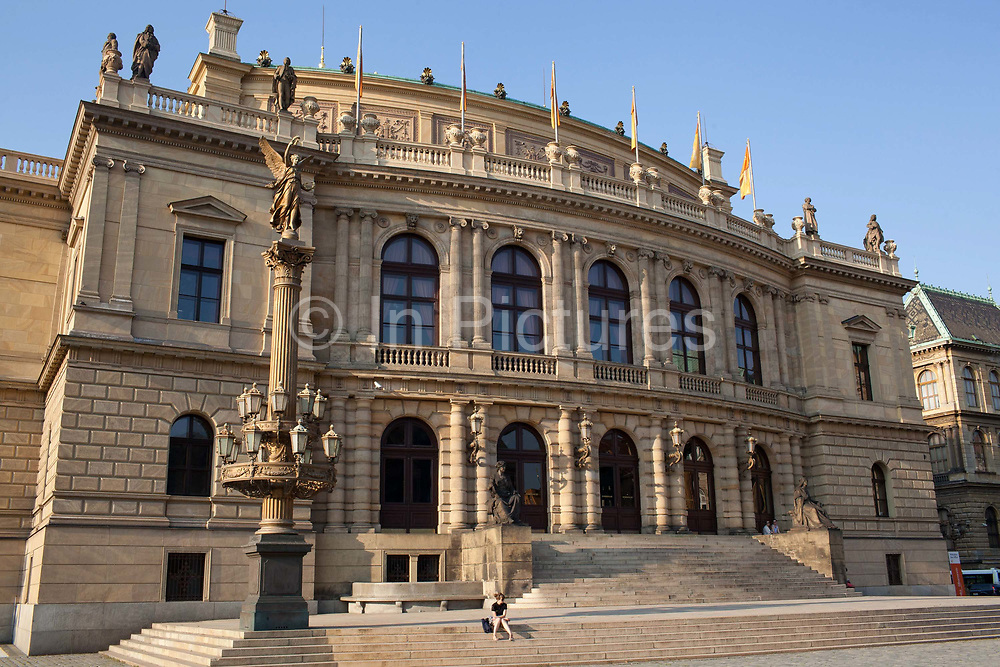 Rudolfina; Prague, Czech Republic.