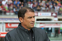 May 13, 2018 - Turin, Piedmont, Italy - Leonardo Semplici, head coach of S.P.A.L., during the Serie A football match between Torino FC and S.P.A.L. at Olympic Grande Torino Stadium on May 13, 2018 in Turin, Italy. (Credit Image: © Massimiliano Ferraro/NurPhoto via ZUMA Press)