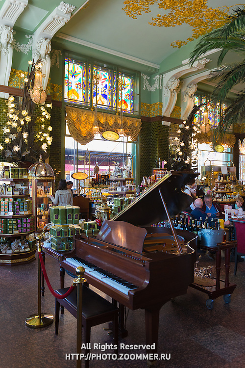 Eliseevsky Retro Store Interior, Saint Petersburg