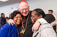 Monticello, New York Cardinal Timothy  Dolan, Archbishop of New York, visited Catholic Charities Community Services of Orange County's new Monticello location to provide a blessing and welcome to the Catholic Charities family for Sullivan County staff and clients on March 31, 2016.