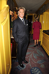 RICHARD CARING at a party to celebrate the publication of Blow by Blow - The Story of Isabella Blow by Detmar Blow and Tom Sykes held at Annabel's, Berkeley Square, London on 21st September 2010.