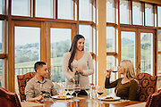 Wine Tasting and lifestyle photo shoot at Chalk Hill Winery in Healdsburg, California.