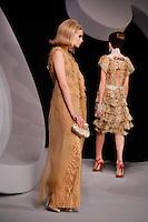 Mariya Markina walks the runway  at the Christian Dior Cruise Collection 2008 Fashion Show