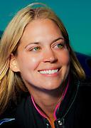 Melissa Pemberton photographed at the Weeks Hangar during AirVenture 2009, Oshkosh, Wisconsin.