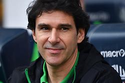 Nottingham Forest manager Aitor Karanka prior to kick-off