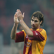 Galatasaray's Lorik CANA during their Friendly soccer match Galatasaray between Ajax at the Turk Telekom Arena at Arslantepe in Istanbul Turkey on Saturday 15 January 2011. Turkish soccer team Galatasaray new stadium Turk Telekom Arena opening ceremony. Photo by TURKPIX