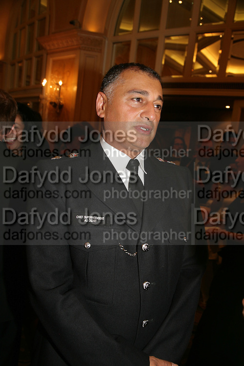 Chief Superintendant Ali Dizaei, Eleventh Annual Gala dinner for the Asian Business Awards 2007. Hosted by Eatern Eye and Ethnic Media Group. Hilton Hotel. Park Lane. 8 May 2007.  -DO NOT ARCHIVE-© Copyright Photograph by Dafydd Jones. 248 Clapham Rd. London SW9 0PZ. Tel 0207 820 0771. www.dafjones.com.
