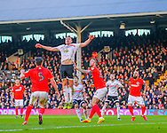 Matt Smith of Fulham during the Sky Bet Championship match at Craven Cottage, London<br /> Picture by Richard Brooks/Focus Images Ltd 07947656233<br /> 02/01/2017