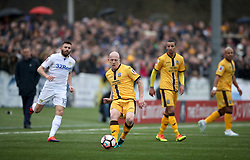 Sutton United's Nicky Bailey during the Emirates FA Cup, Fourth Round match at Borough Sports Ground, London.