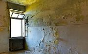 dark room with window, interior