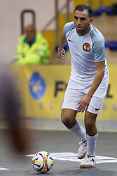 November 22, 2017 - Pescara, PE, Italy - Sofian El Adel of 't Knooppunt in action during the Elite Round of UEFA Futsal Cup 17/18 match between FC Barcelona and ZVV 'T Knoppount at Giovanni Paolo II arena on November 22, 2017 in Pescara, Italy. (Credit Image: © Danilo Di Giovanni/NurPhoto via ZUMA Press)