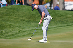 March 15, 2019 - Ponte Vedra Beach, FL, U.S. - PONTE VEDRA BEACH, FL - MARCH 15: Russell Knox of the United States putts on the 14th hole during the second round of THE PLAYERS Championship on March 15, 2019 on the Stadium Course at TPC Sawgrass in Ponte Vedra Beach, Fl.  (Photo by David Rosenblum/Icon Sportswire) (Credit Image: © David Rosenblum/Icon SMI via ZUMA Press)