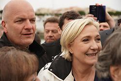 April 27, 2017 - Le Grau Du Roi, France - Marine Le Pen (Credit Image: © Panoramic via ZUMA Press)