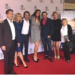 """Caitlyn Jenner releases a photo on Instagram with the following caption: """"@walktovegasofficial premiere with my long time friends - the Van Patten\u2019s! What an amazing film you must see it!"""". Photo Credit: Instagram *** No USA Distribution *** For Editorial Use Only *** Not to be Published in Books or Photo Books ***  Please note: Fees charged by the agency are for the agency's services only, and do not, nor are they intended to, convey to the user any ownership of Copyright or License in the material. The agency does not claim any ownership including but not limited to Copyright or License in the attached material. By publishing this material you expressly agree to indemnify and to hold the agency and its directors, shareholders and employees harmless from any loss, claims, damages, demands, expenses (including legal fees), or any causes of action or allegation against the agency arising out of or connected in any way with publication of the material."""