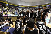 DESCRIZIONE : Torino Lega A 2015-16 Manital Torino-Obiettivo Lavoro Bologna<br /> GIOCATORE : Time Out Obiettivo Lavoro Virtus Bologna<br /> CATEGORIA : Time Out<br /> SQUADRA : Obiettivo Lavoro Virtus Bologna<br /> EVENTO : Campionato Lega A 2015-2016<br /> GARA : Manital Torino - Obiettivo Lavoro Bologna<br /> DATA : 27/12/2015<br /> SPORT : Pallacanestro<br /> AUTORE : Agenzia Ciamillo-Castoria/M.Matta<br /> Galleria : Lega Basket A 2015-2016 <br /> Fotonotizia: Torino Lega A 2015-16 Manital Torino - Obiettivo Lavoro Bologna