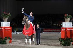 Minderhoud Hans Peter, (NED), Glock's Flirt <br /> Indoor Brabant - 's Hertogenbosch 2016<br /> © Hippo Foto - Dirk Caremans<br /> 12/03/16