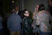 Amanda Sharp, Franc Roddam and Frost French host a party to celebrate the publication of ' Margarita's Olive Press' by Rodney Shileds. 1 Greek St. Soho Sq. London. 15 September 2005.  ONE TIME USE ONLY - DO NOT ARCHIVE  © Copyright Photograph by Dafydd Jones 66 Stockwell Park Rd. London SW9 0DA Tel 020 7733 0108 www.dafjones.com