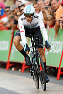 Michal Kwiatkowski (POL - Team Sky) during the UCI World Tour, Tour of Spain (Vuelta) 2018, Stage 1, individual time trial, Malaga - Malaga (8km) in Spain, on August 26th, 2018 - Photo Luis Angel Gomez / BettiniPhoto / ProSportsImages / DPPI